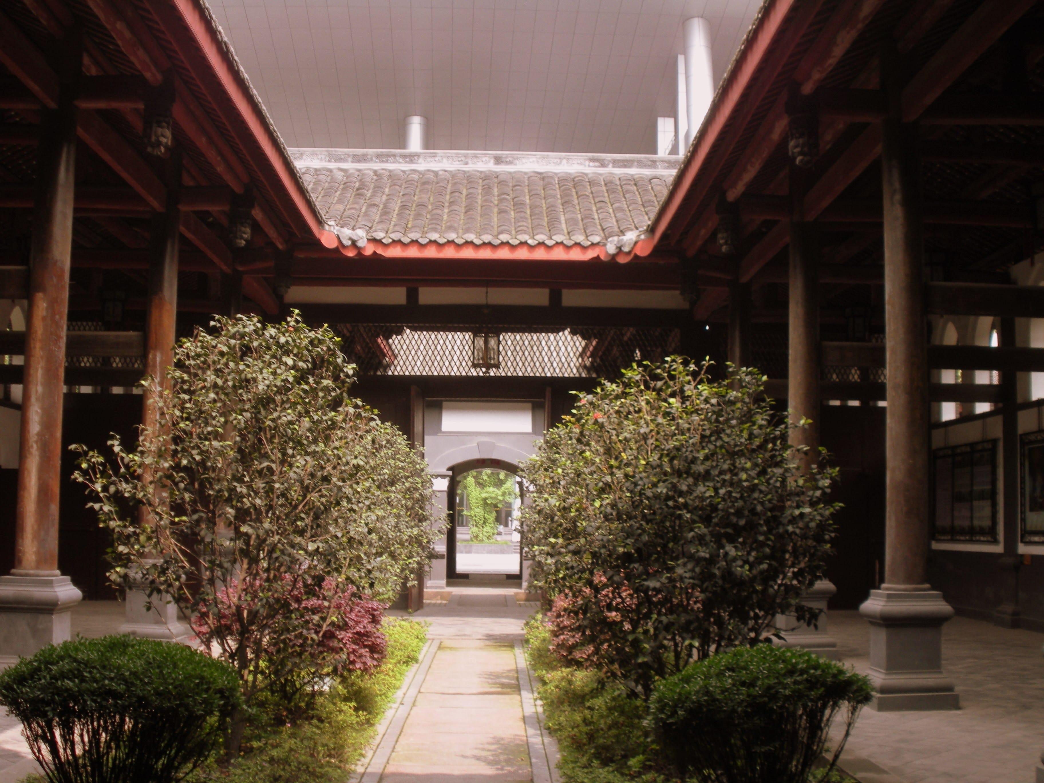 中式的庭院