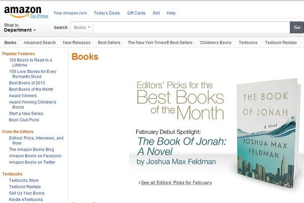 亚马逊编辑推荐:月度最佳图书