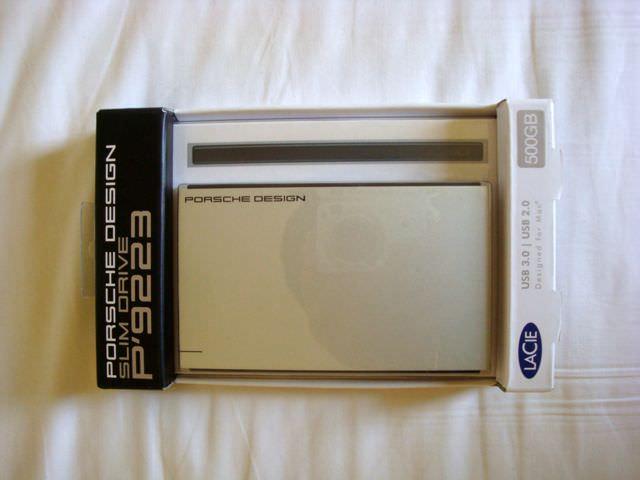 莱斯(LaCie) 保时捷Porsche Design Slim Drive P'9223-移动硬盘-USB3.0-500G