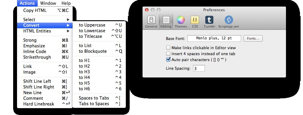 Mac平台Markdown编辑工具:Mou