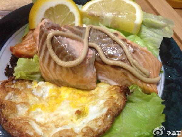 烤箱制作的三味鱼