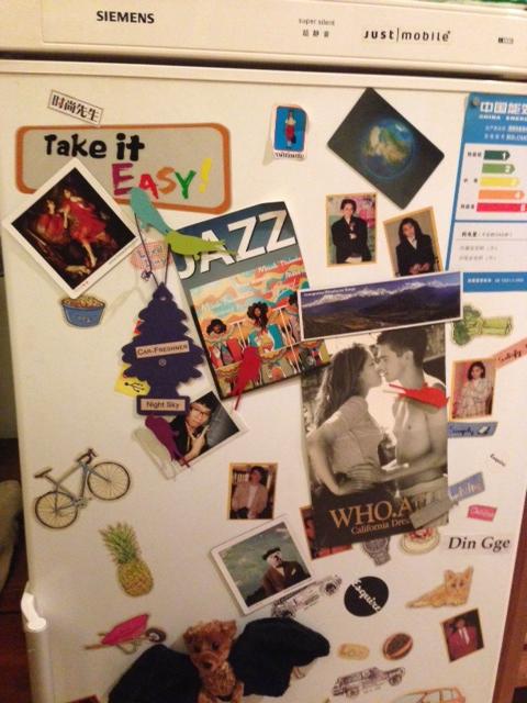 冰箱贴纸和磁铁