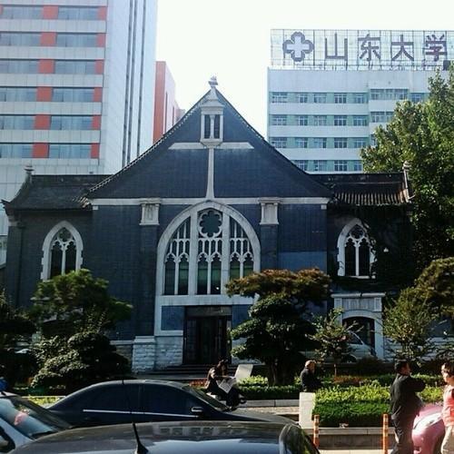 齐鲁医院-古建筑(具体名称未知)
